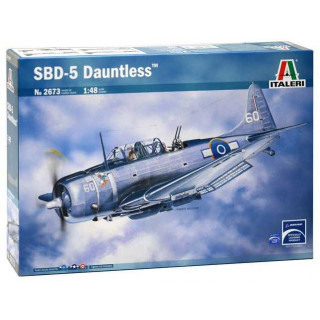 Model Kit letadlo 2673 - SBD-5 DAUNTLESS (1:48)
