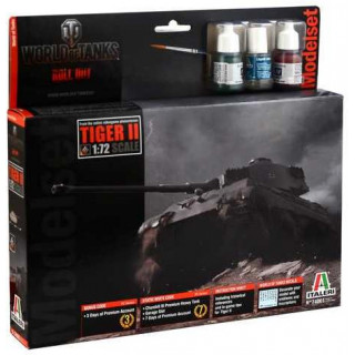 Model Set World of Tanks 74001 - Tiger II (1:72)
