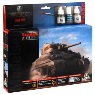 Model Set World of Tanks 74002 - Sherman (1:72)