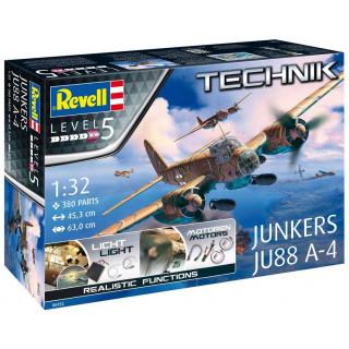 Plastic ModelKit TECHNIK letadlo 00452 - Junkers Ju 88 A-4 (1:32)