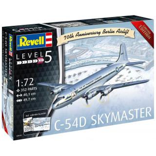 Plastic ModelKit repülőgép 03910 - C-54D Skymaster 70th Anniversary Berlin Airlift (1:72)