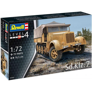 Plastic ModelKit military 03263 - Sd.Kfz. 7 (Late Production) (1:72)