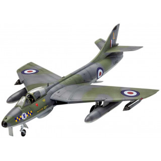 Model Set repülőgép 63908 - 100 Years RAF: Hawker Hunter FGA.9 (1:72)