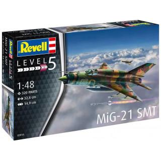 Plastic ModelKit repülőgép 03915 - MiG-21 SMT (1:48)