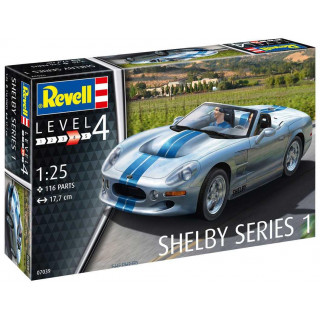 Plastic ModelKit auto 07039 - Shelby Series I (1:25)