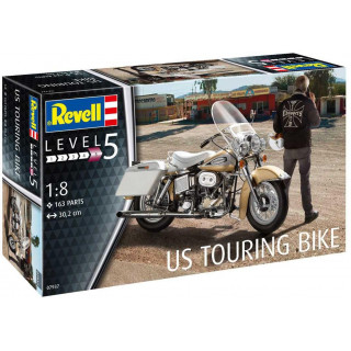 Plastic ModelKit motorkerékpár 07937 - US Touring Bike (1:8)