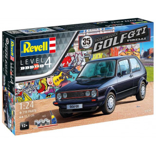 Gift-Set autó 05694 - 35 Years VW Golf 1 GTi Pirelli (1:24)