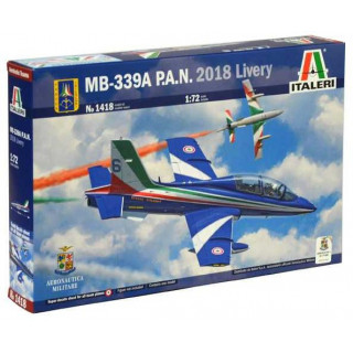 Model Kit letadlo 1418 - MB-339A P.A.N. 2018 Livery (1:72)