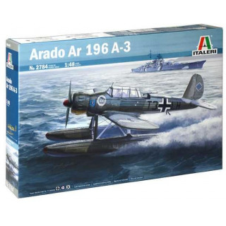 Model Kit letadlo 2784 - ARADO AR 196 A-3 (1:48)