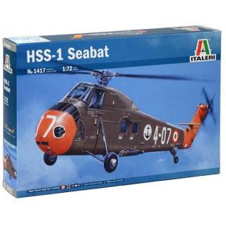 Model Kit vrtulník 1417 - HSS-1 Seabat (1:72)
