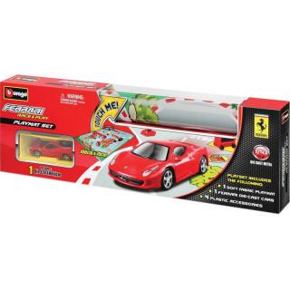 Bburago 1:43 Ferrari Playmat + 1x auto