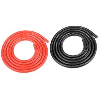 Corally silikonový kabel Super Flex 12AWG červený + černý (1+1m)