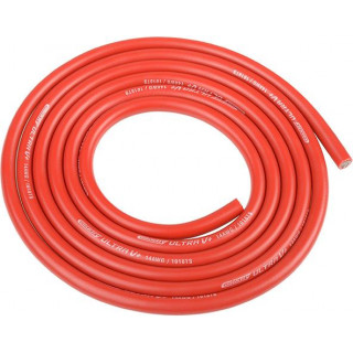 Corally silikonový kabel Super Flex 14AWG červený (1m)
