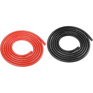 Corally silikonový kabel Super Flex 14AWG červený + černý (1+1m)