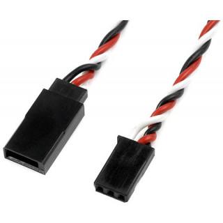 Szervó hosszabbító kábel, csavart Futaba 22AWG HD 30cm