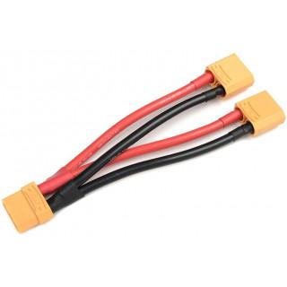 Paralelní Y-kabel XT-90 10AWG 12cm