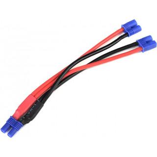 Paralelní Y-kabel EC2 14AWG 12cm
