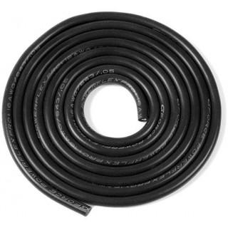 Kabel se silikonovou izolací Powerflex 16AWG černý (1m)