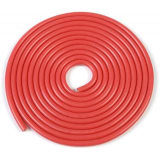 Kábel szilikon izolációval Powerflex 20AWG piros (1m)