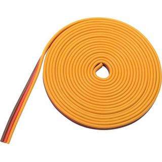 Szervo kábel lapos 22AWG (2m)