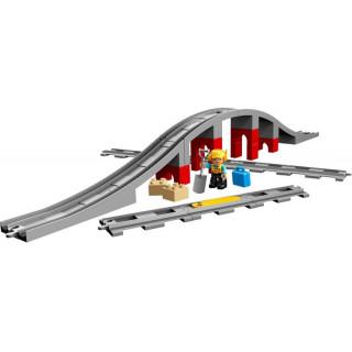 LEGO DUPLO - Vasúti híd és sínek LEGO® 10872