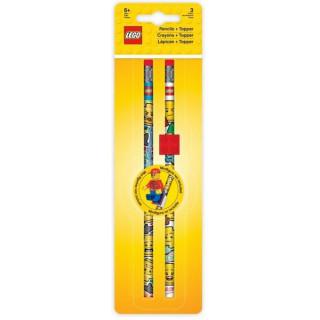 LEGO Iconic Tužka grafitová s gumou a klipem - 2 ks