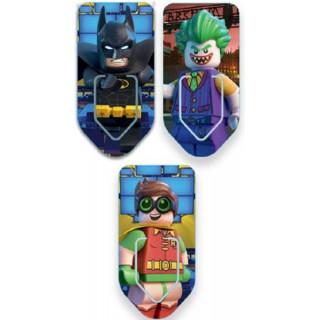 LEGO Batman Movie - Záložky 3ks (Batman/Robin/Joker)