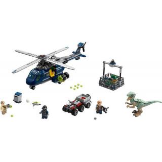 LEGO Jurský Park - Pronásledování Bluea helikoptérou