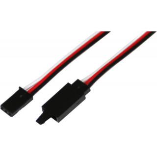 Szervó hosszabbító kábel Futaba, klippel HD 10cm