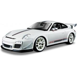 Bburago Plus Porsche 911 GT3 RS 4.0 1:18 bílá