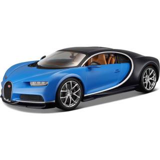 Bburago Plus Bugatti Chiron 1:18 modrá