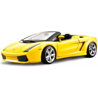 Bburago Lamborghini Gallardo Spyder 1:18 žlutá metalíza