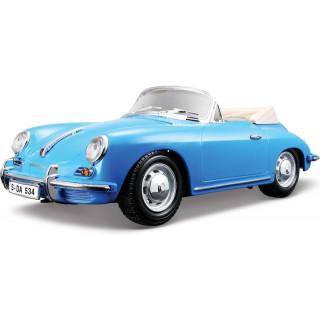 Bburago Porsche 356B Cabriolet 1961 1:18 modrá