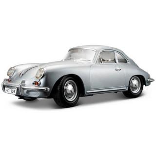 Bburago Porsche 356B Coupe 1961 1:18 stříbrná