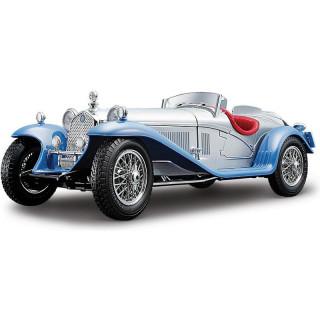 Bburago Alfa Romeo 8C 2300 Spider Touring 1932 1:18 stříbrná