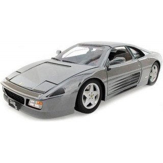 Bburago Ferrari 348ts 1:18 stříbrná