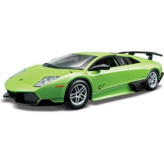 Bburago Plus Lamborghini Murciélago LP 670-4 SV 1:24 zelená