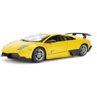 Bburago Plus Lamborghini Murciélago LP 670-4 SV 1:24 žlutá