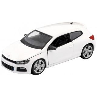 Bburago Plus Volkswagen Scirocco R 1:24 bílá