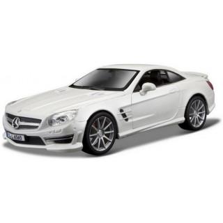 Bburago Plus Mercedes-Benz SL 65 AMG 1:24 bílá metalíza
