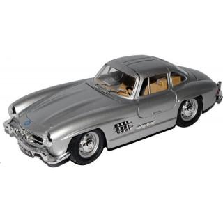 Bburago Mercedes-Benz 300 SL 1954 1:24 stříbrná