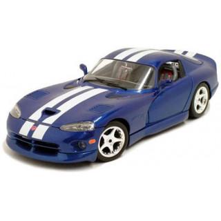 Bburago Dodge Viper GTS Coupe 1:24 modrá