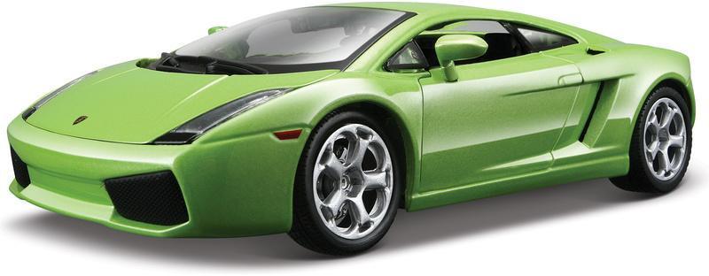 Bburago Lamborghini Gallardo 1 24 zöld - RCVilag.hu 1888acf4fe
