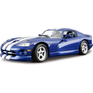 Bburago Kit Dodge Viper GTS Coupe 1996 1:24 modrá