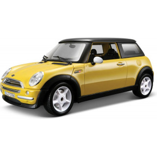 Bburago Kit Mini Cooper 2001 1:24 žlutá