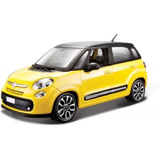 Bburago Kit Fiat 500L 1:24 žlutá