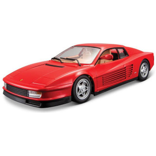 Bburago Ferrari Testarossa 1:24 červená