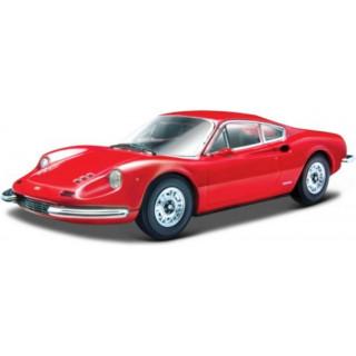 Bburago Ferrari 246 GT 1:24 červená