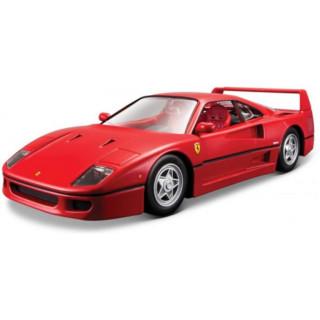 Bburago Ferrari F40 1:24 červená