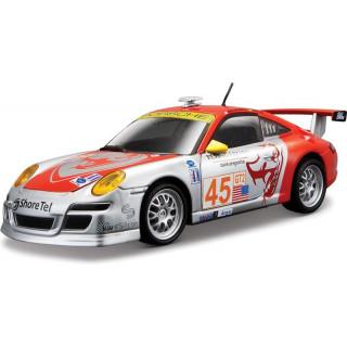 Bburago Porsche 911 GT3 RSR 1:24 stříbrná
